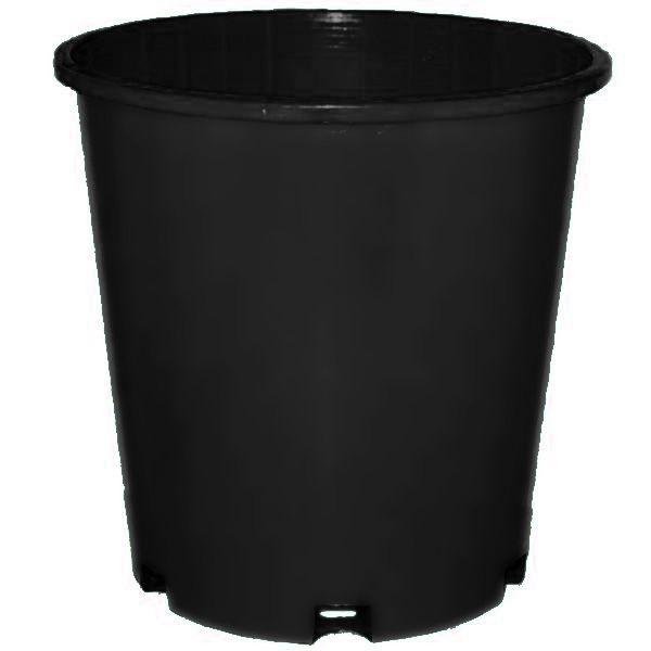 Plastic slimline Black
