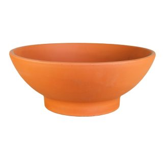 Garden terracotta bowl 1