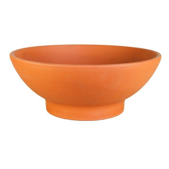 Garden terracotta bowl