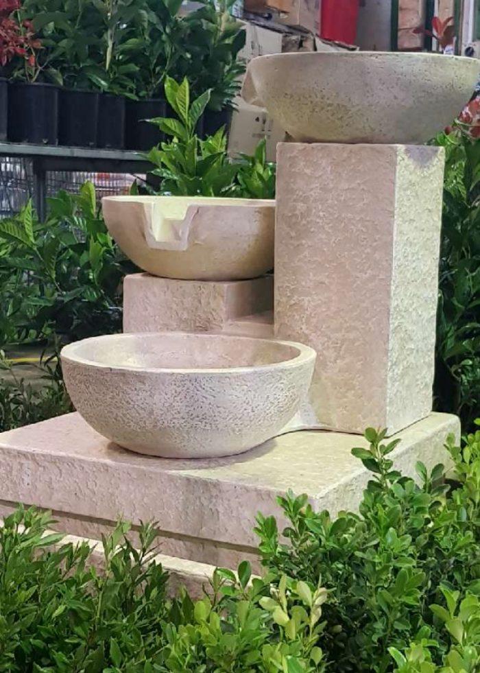 Trio Cascade - sandstone