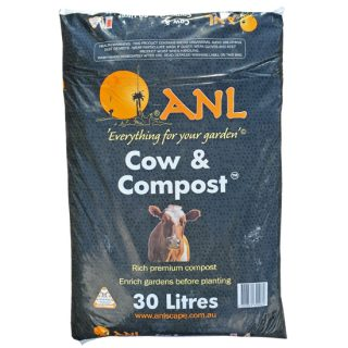 Cow and compost 1