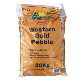 Western gold pebbles 1